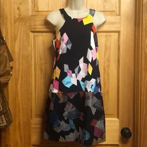 Trina Turk Geometric Dress